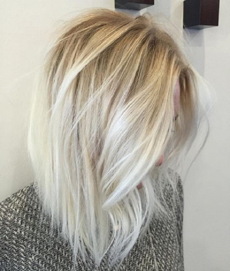 каре для волос средней длины