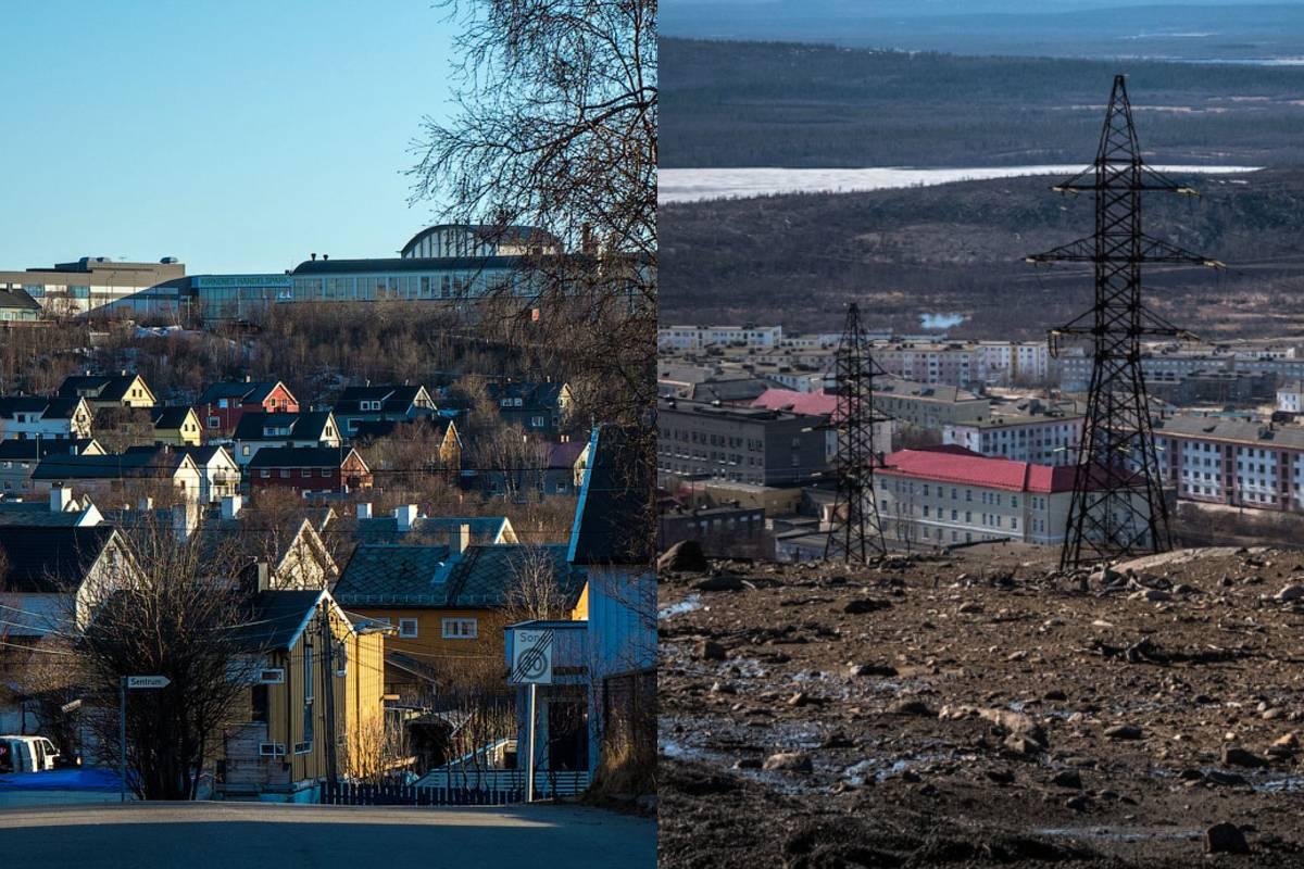 Чему радуются живущие на границе России и Норвегии молодые люди