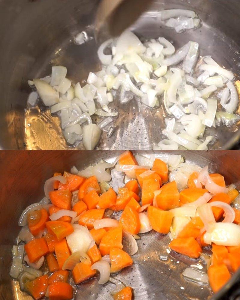 грибной крем-суп без бульона