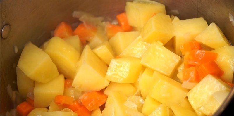 грибной крем-суп вегетарианский