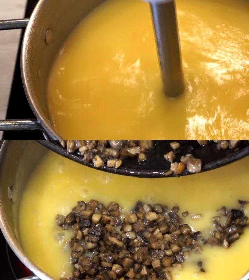 грибной крем-суп в домашних условиях