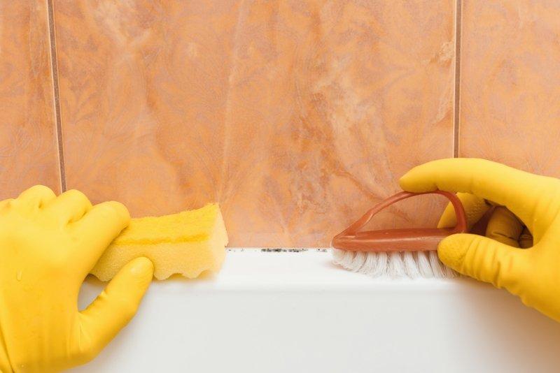 грибок в ванной как бороться