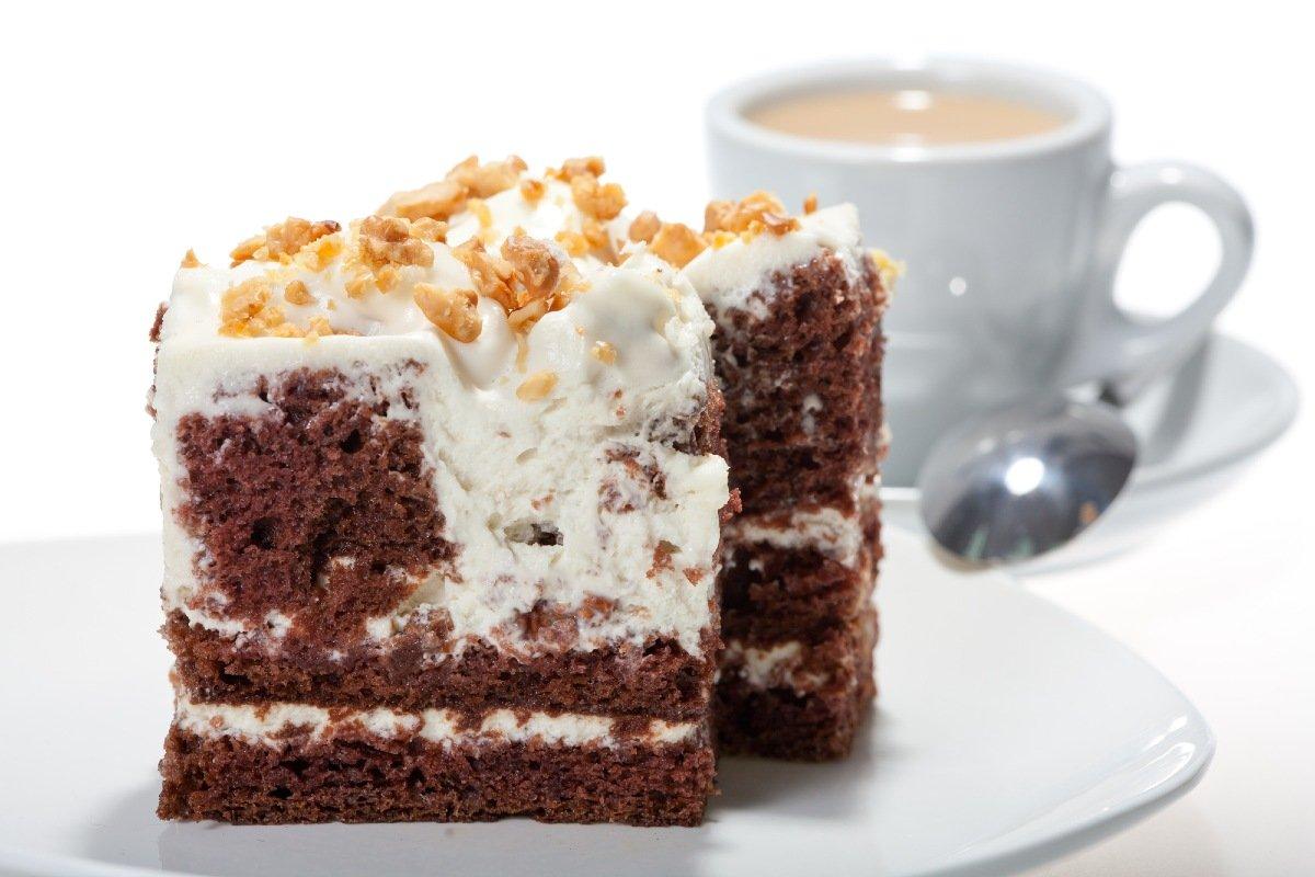 торт с густым гремом