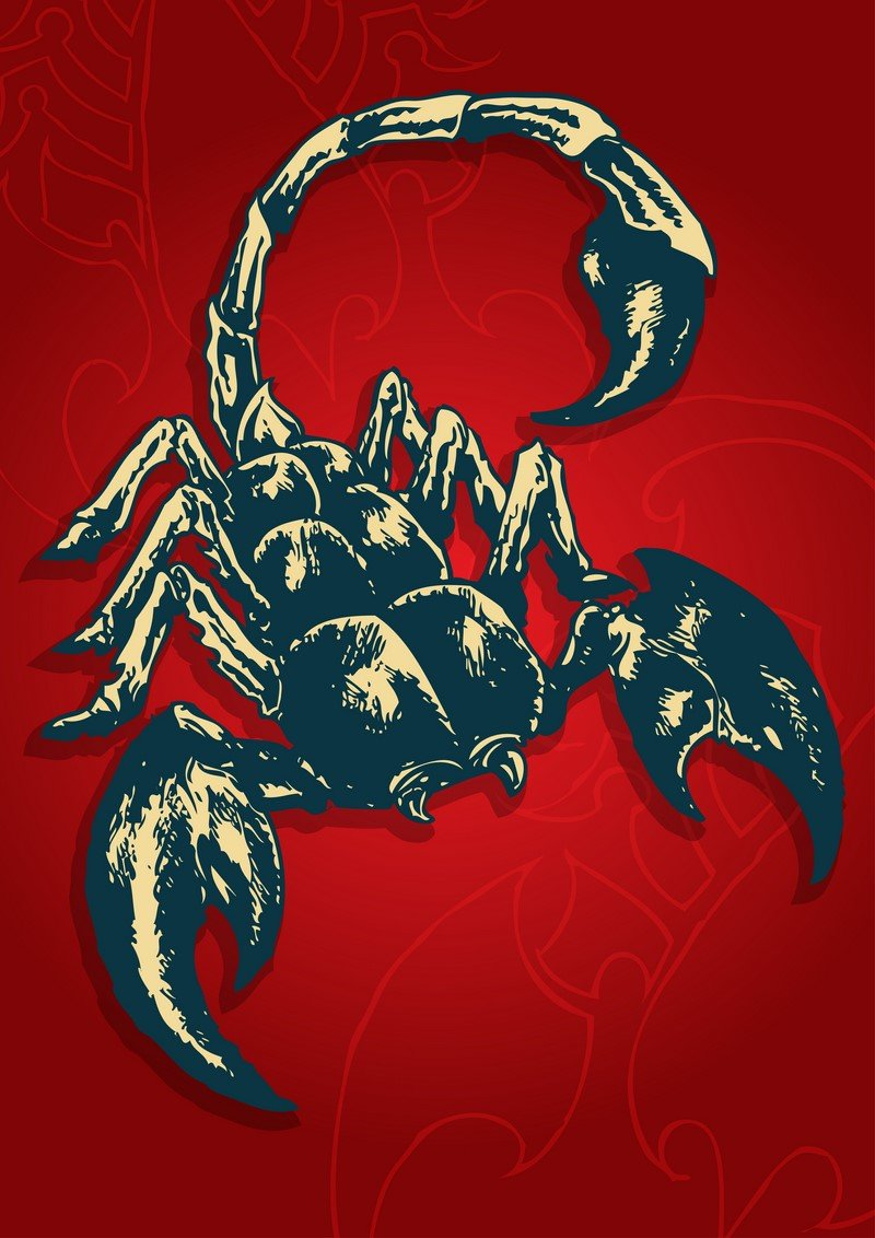 скорпион знак мужчина