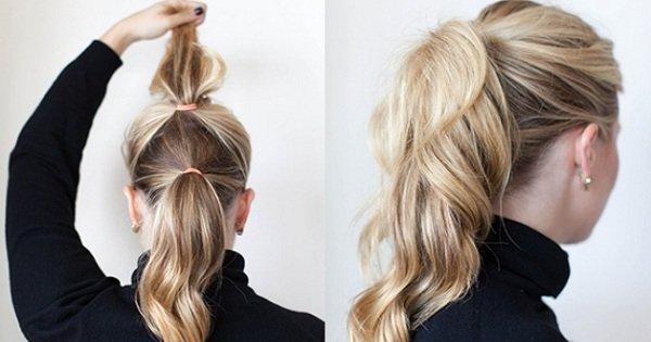 Прически на тонкие длинные волосы своими руками