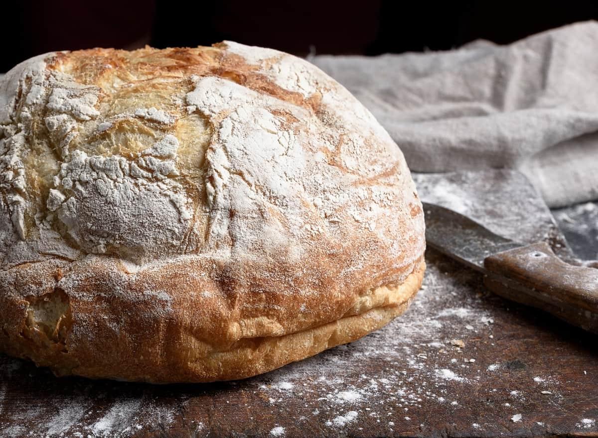 Рецепт хлеба без замеса теста Кулинария,Выпечка,Дом,Кухня,Тесто,Хлеб