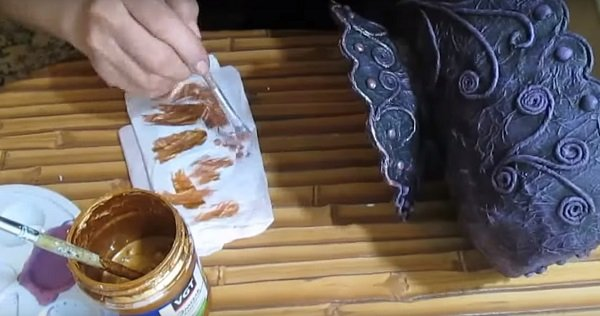 хлебница из картона своими руками