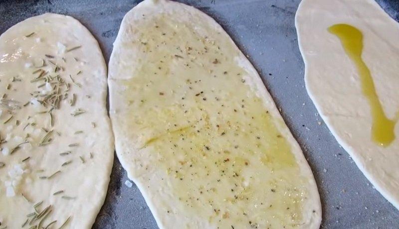 хлебные лепешки на воде в духовке