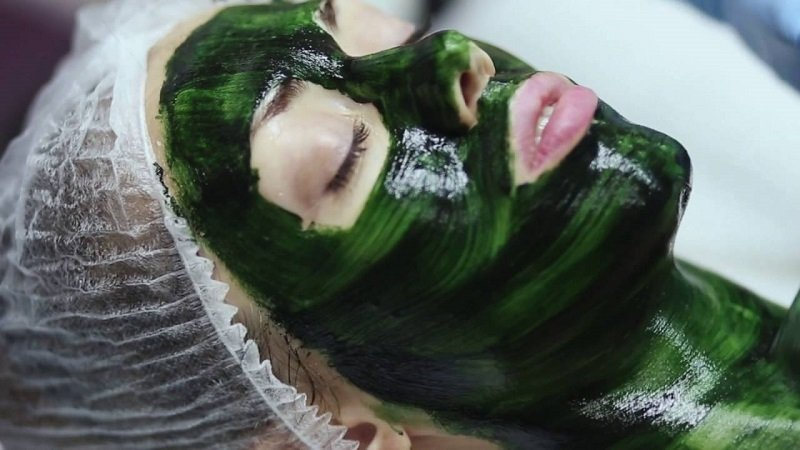 маски из спирулины
