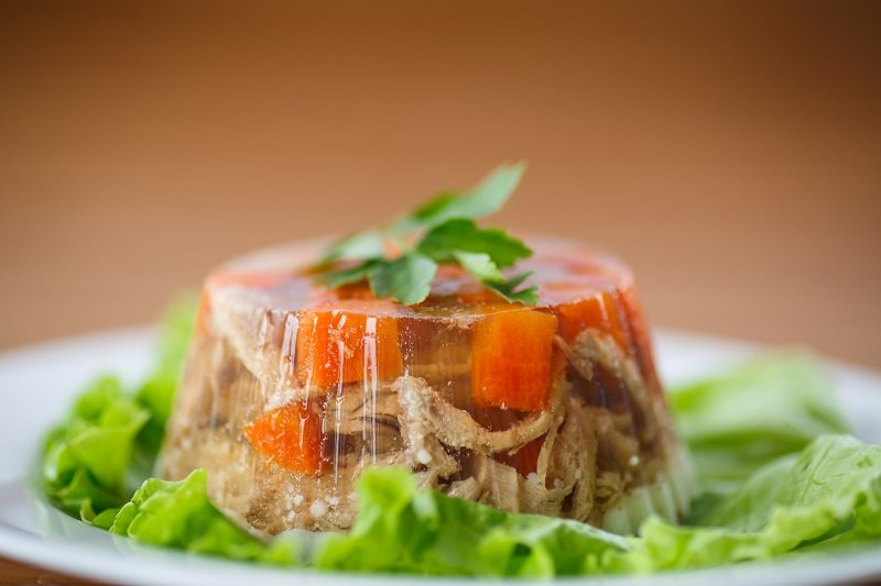 Рецепт холодца с желатином кулинария