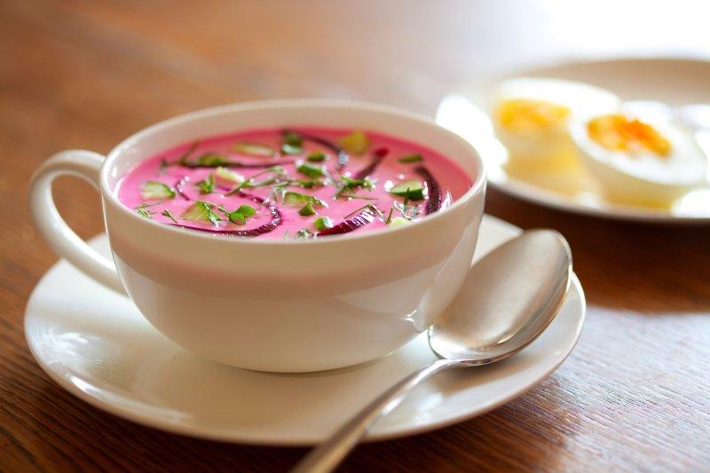 холодные супы для лета рецепты