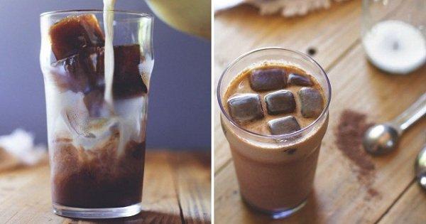 Отличный освежающий напиток для жаркого лета. Этот трюк придется по душе всем кофеманам!