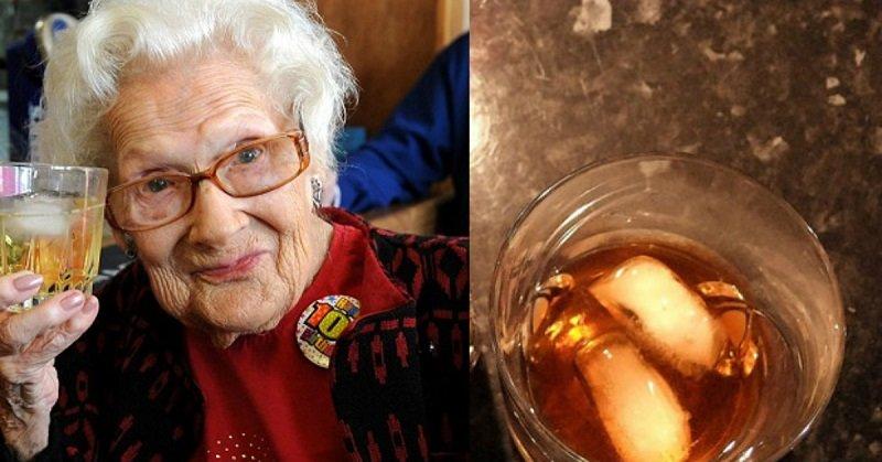 Дороти Хау с виски