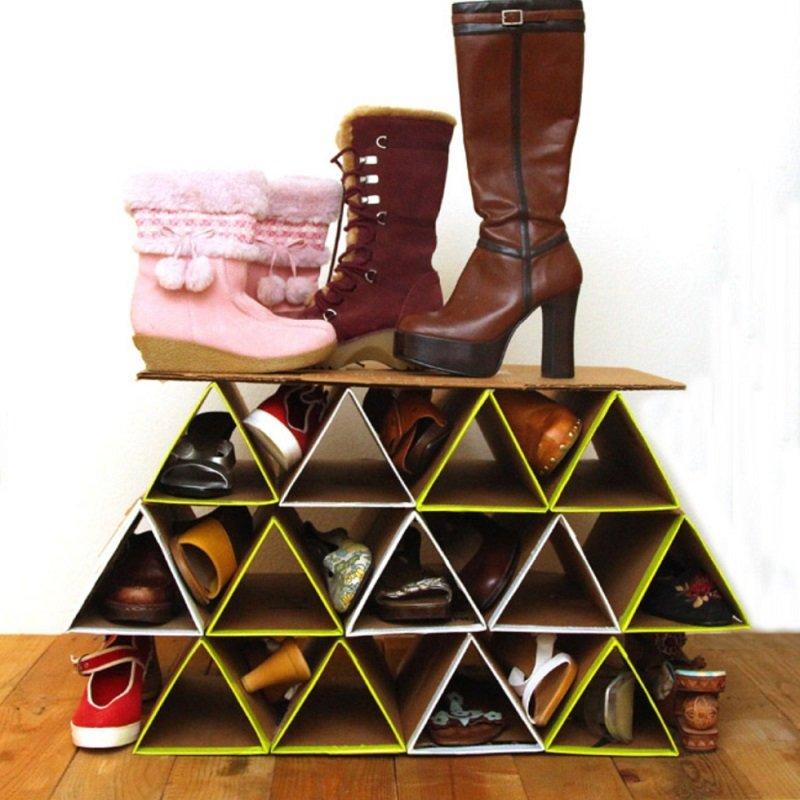 Подставка для туфель своими руками 48