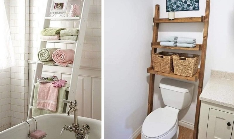 Идеи для хранения полотенец в ванной комнате Вдохновение,Советы,Ванная,Декор,Дизайн,Дом,Идеи,Лайфхаки,Полки,Полотенца,Стиль
