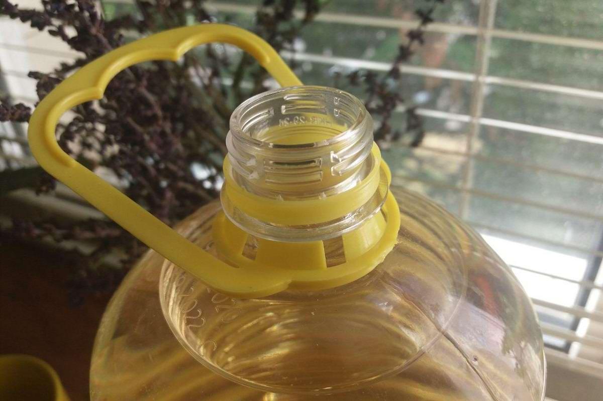 в чем хранить растительное масло