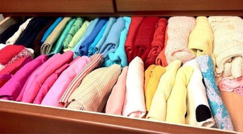 уборка в шкафу