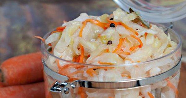 Рецепт невероятно вкусной квашеной капусты: всего 3 дня — и блюдо готово!