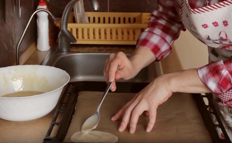 приготовить вафельные трубочки без вафельницы