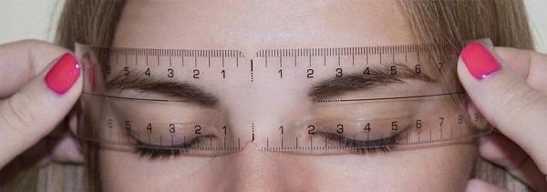 форма бровей по форме лица