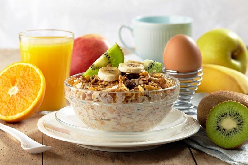 perfektné raňajky pre chudnutie