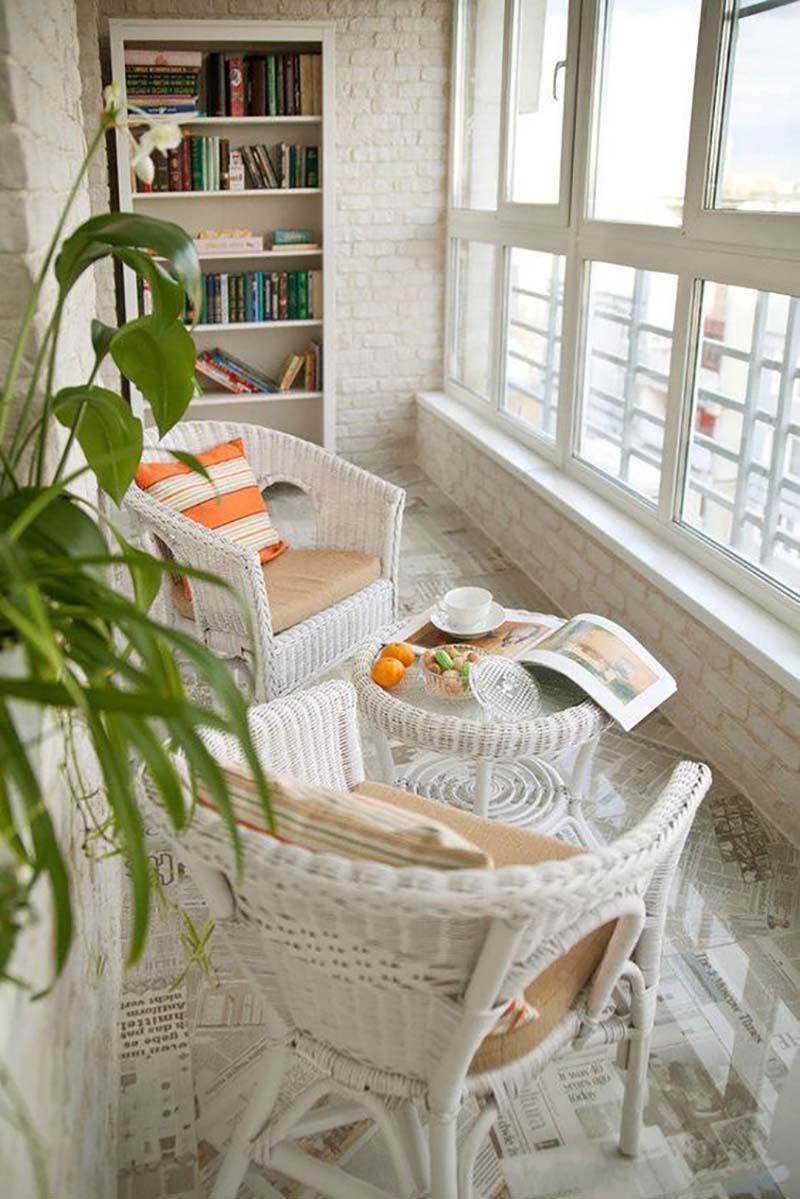 идеи дизайна балконов и лоджий