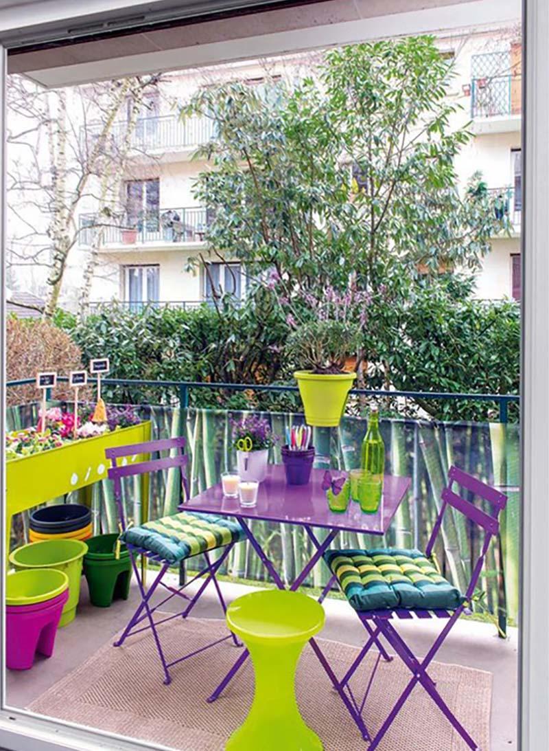 nápady pre balkóny s rukami