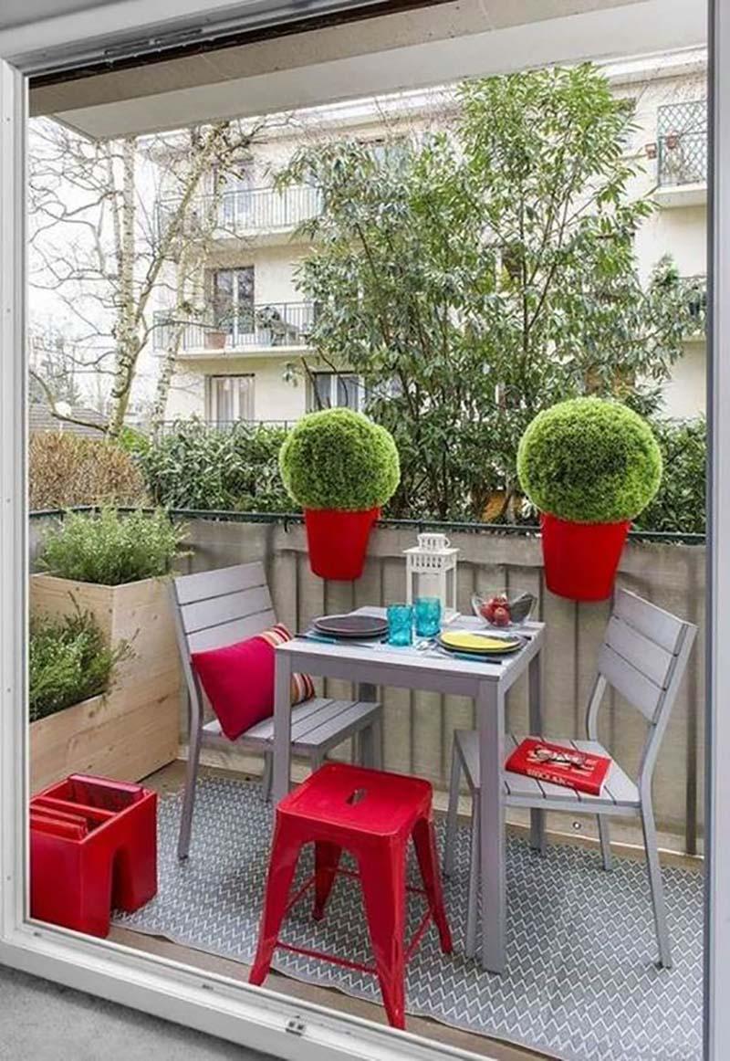 nápady na balkón v byte