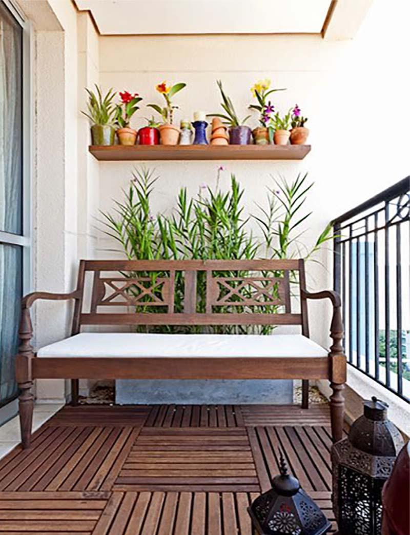 Nápady malý balkón