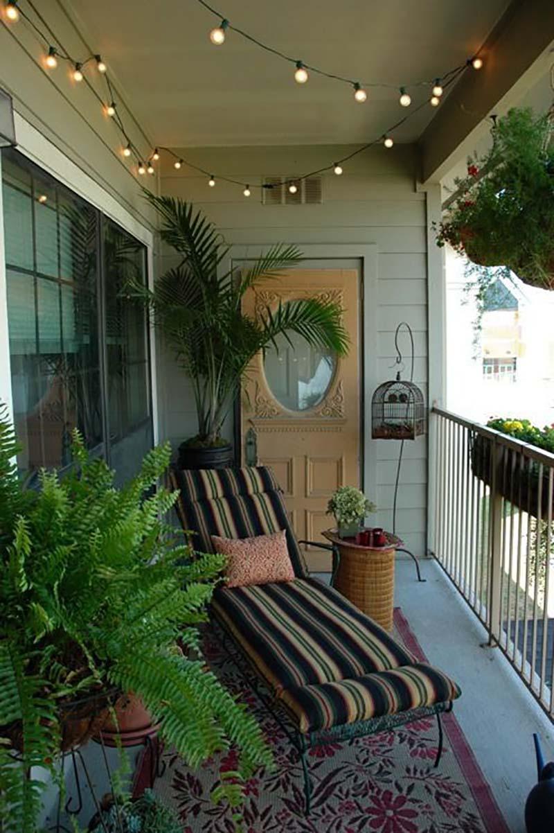 идеи дизайна узкого балкона