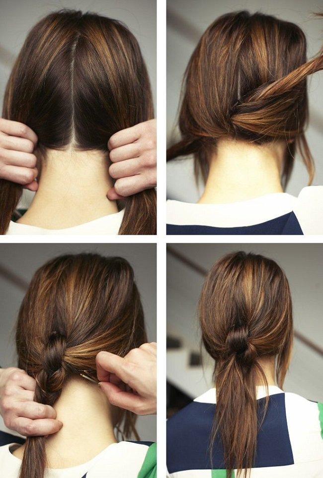 узелок из волос