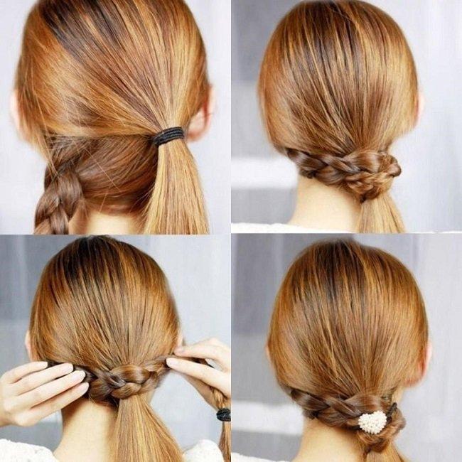 хвост и коса
