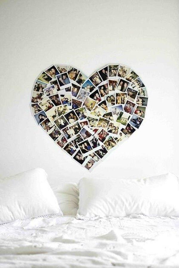 srdce na zdi