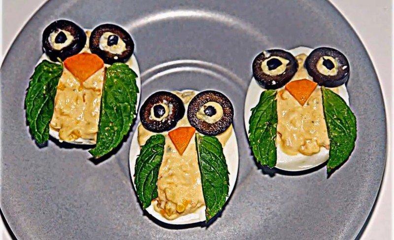 бутерброд сова