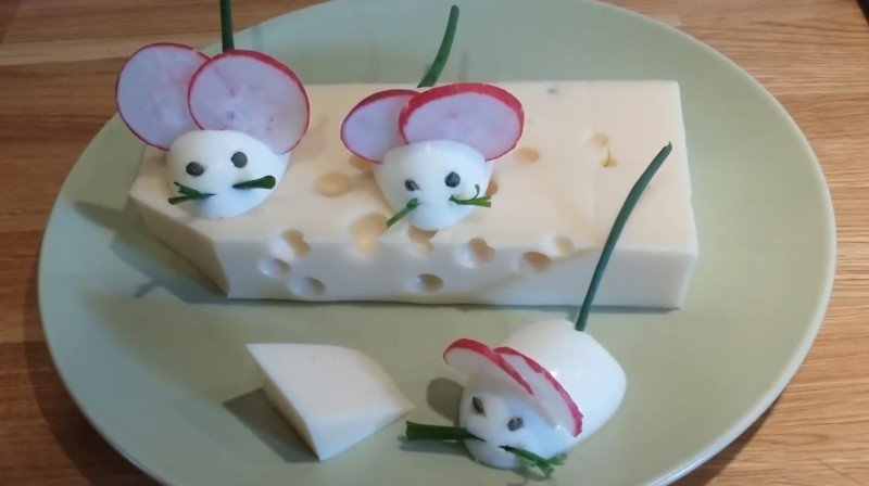 мыши из яиц