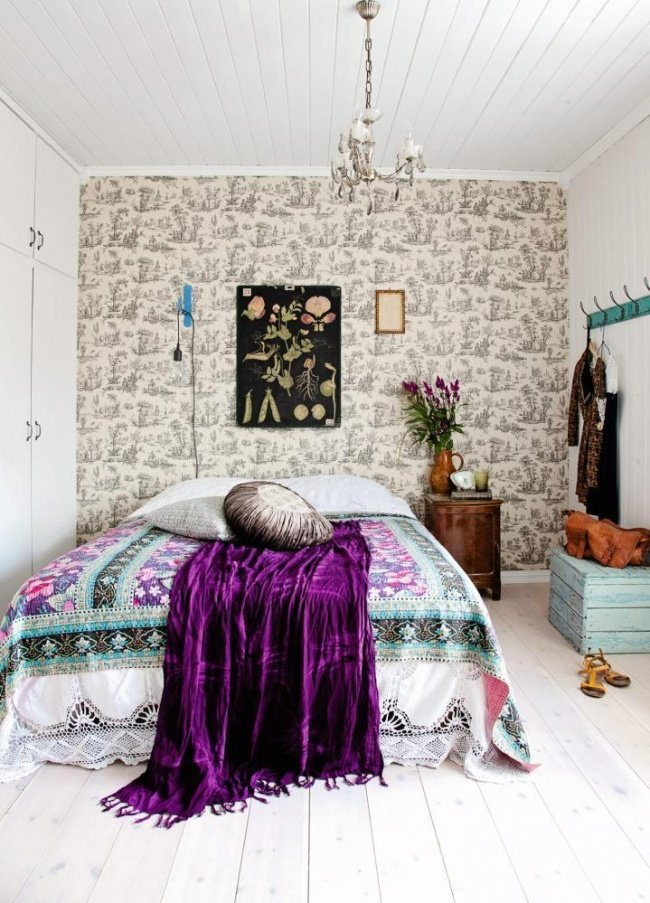 шикарная спальня