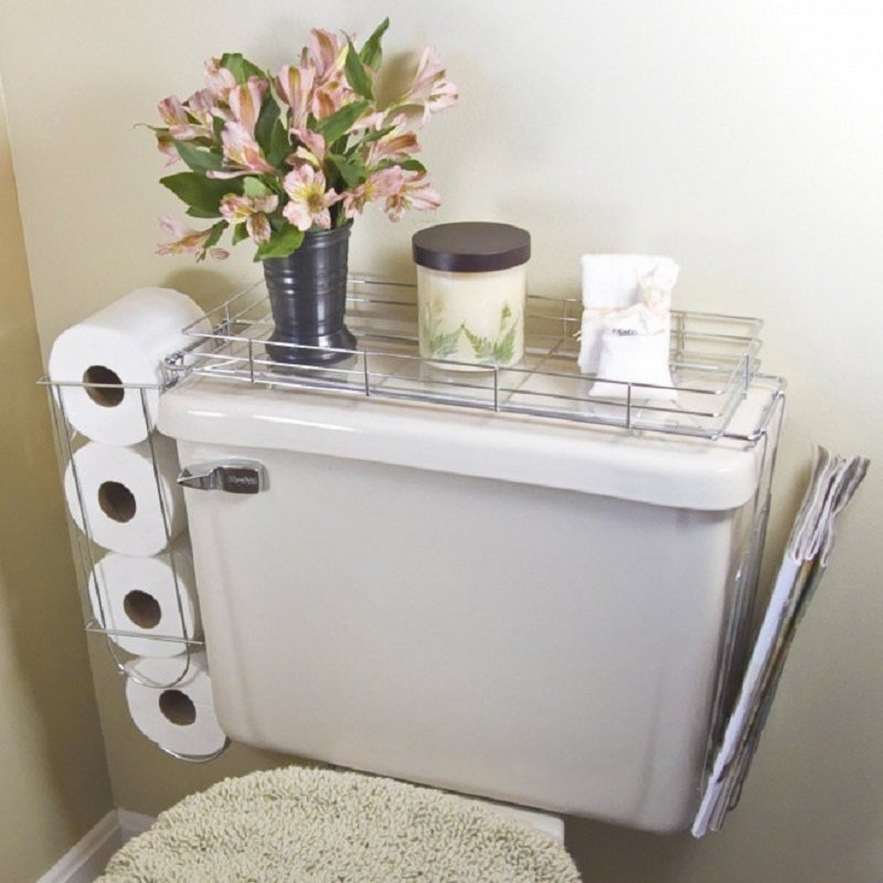 как сэкономить пространство в ванной
