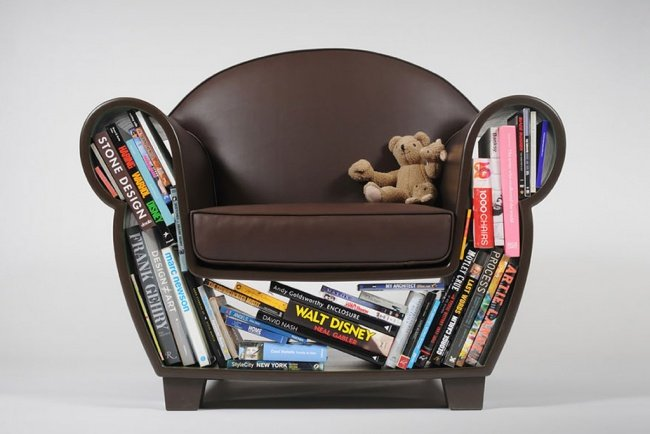 кресло с отделом для хранения вещей