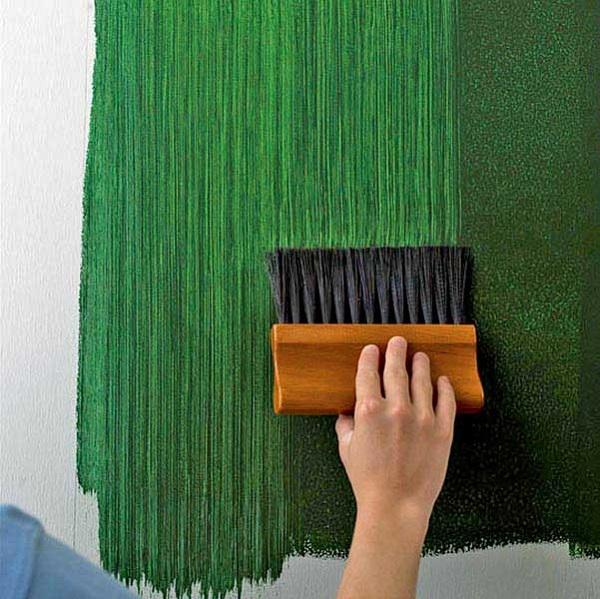 как сделать полоски на стене