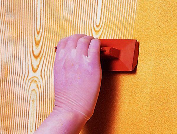 эффект деревянной поверхности