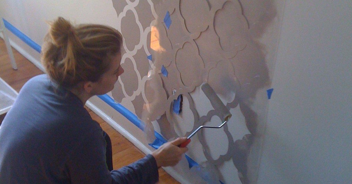 Сделай интерьер более оригинальным: 5 необычных техник для окраски стен.