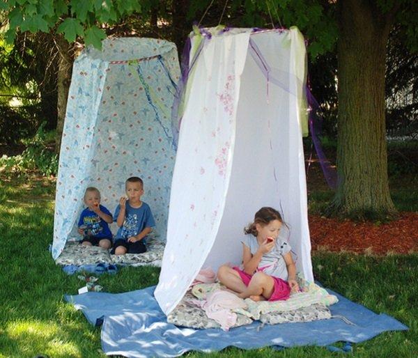 палатки из занавесок