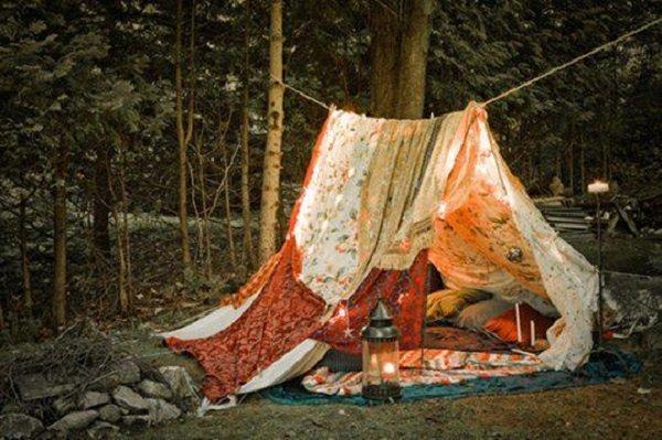 палатка для чтения