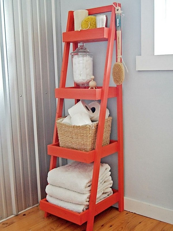 как сэкономить место в крошечной ванной комнате
