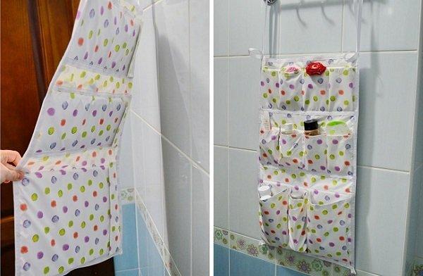 как упорядочить вещи в ванной