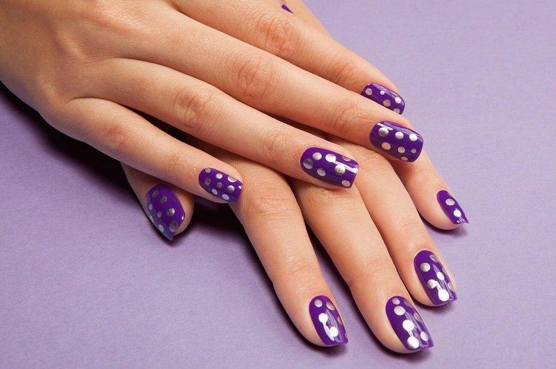 фиолетовый вариант