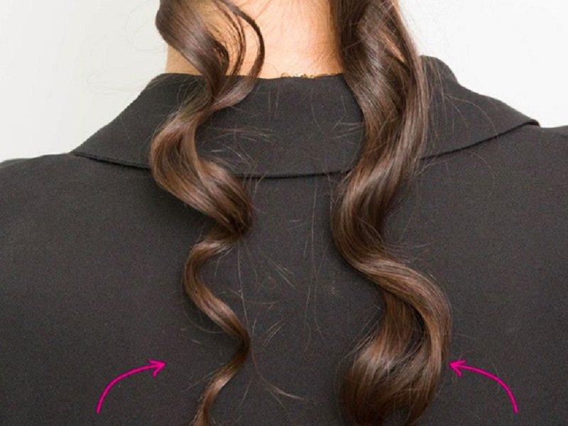 трюки с волосами