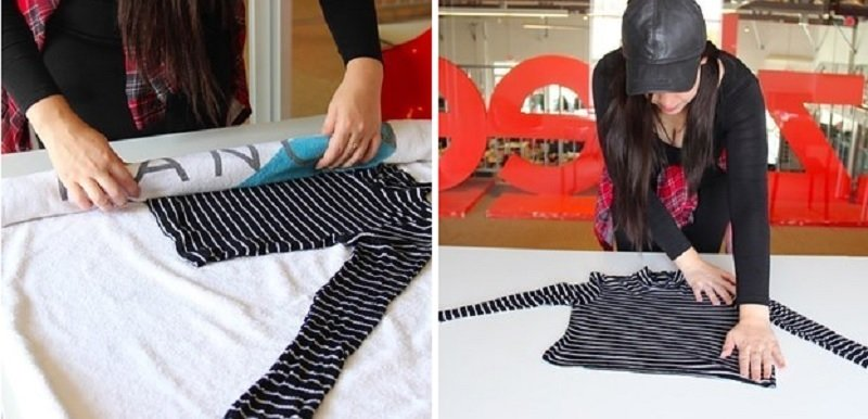 как быстро растянуть одежду