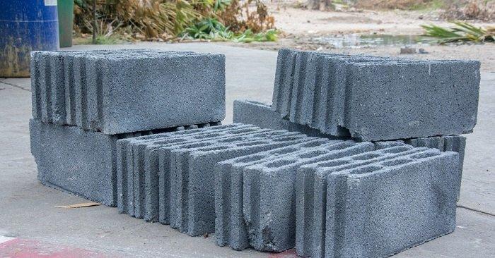 бетонные шлакоблоки