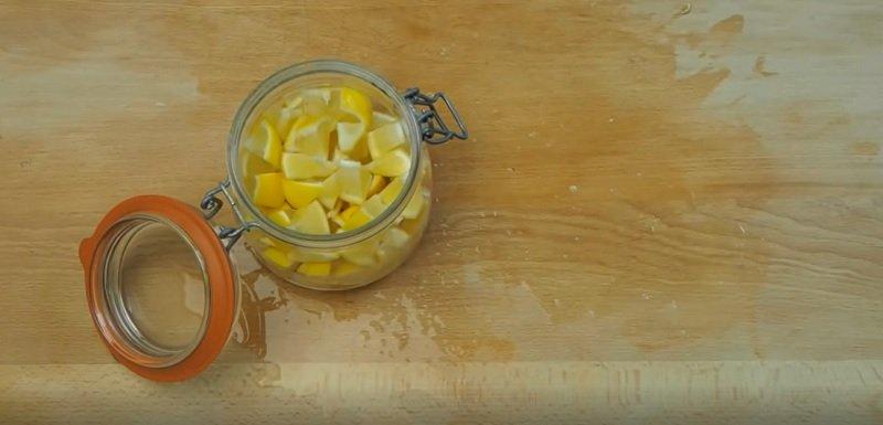 имбирное варенье с лимоном